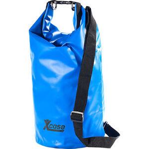 Wasserfester Beutel: Wasserdichter Packsack 16 Liter, blau