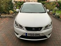 SEAT IBIZA 1.6 TDI CR FR SPORT COUPE 3DR ,47000 MILES