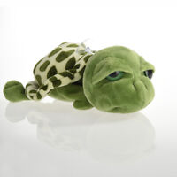 1 x Cute Big Eyes Green Tortoise Turtle Animal Baby Plush Stuffed 20CM Toy D4G0