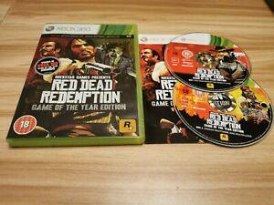 Red Dead Redemption Game Of The Year Edition Inc Manual For Microsoft Xbox 360