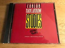 CONLON NANCARROW: Studies Ensemble Modern INGO METZMACHER CD [ LIKE NEW]
