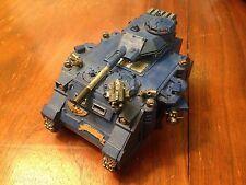 Warhammer 40k -  Space Marine Predator Tank Painted