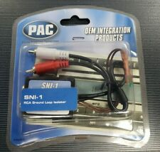 PAC SNI-1 RCA Noise Filter Ground Loop Isolator