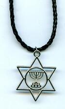 Halskette Davidstern Chanukka Necklace Hexagramm
