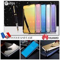 Etui slim housse coque Miroir View Plated Mirror Case Cover pour Huawei P10 lite