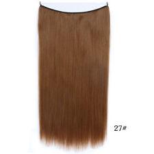 Lang Glatt Band Haarverlängerung Extensions Tresse Haarteil Haarverdichtung 55cm