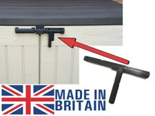 More details for replacement slide bolt lock for the keter store it out uk seller- / bin / part