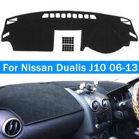 Dashboard Sun Cover Dashmat Dash Mat Pad Carpet For Nissan Dualis J10 2006-2013