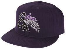 MiLB Minor League Salem Avalanche Batting Practice Baseball Cap Hat - Purple