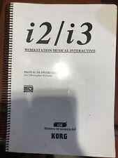 Manual De Instrucciones Teclado Korg i2/i3 en Español