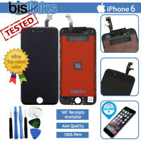 "Black For iPhone 6 4.7"" LCD Touch Display Assembly Digitizer Screen Replacement"