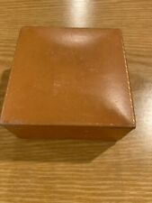 "VINTAGE  Brophy's Jewelers Jewelry TRAVEL BOX Medford, ORE Oregon 4"" Square"