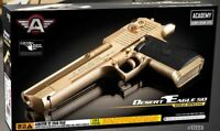 Desert Eagle 50 Gold Pistol Airsoft Handgun 6mm BB Toy Gun Military
