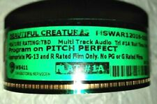 BEAUTIFUL CREATURES Motion Pictures Movie Trailer 1A  35 mm Perfect Pitch