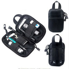 1000D Nylon Tactical Wallet Bag MOLLE Pocket Waist Bag Pouch Outdoor Sports
