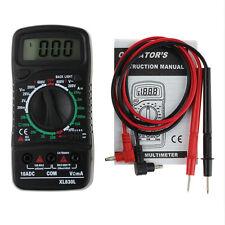 Digital Multimeter Ammeter Multimetro Current Voltmeter Volt Resistance Tester