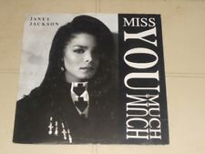 janet jackson miss you much 12inch single