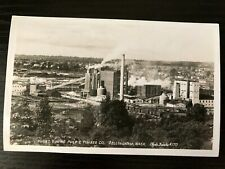PCb41 Pugent Sound Pulp and Timber Co. Bellingham WA. EKC RPPC Photo Postcard