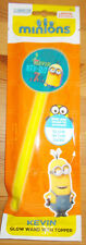 Minions Kevin Glow Wand with Topper NEW SEALED