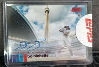 BO BICHETTE  2020 Topps Stadium Club RED FOIL Autograph RC #/50 Blue Jays