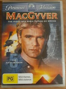 MacGyver : Season 5 (DVD, 2008, 6-Disc Set)