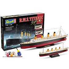 "Revell Conjunto de Regalo ""Titanic"" 2 Modelos 1:700 Kit Modelo 1:1200 - 05727"