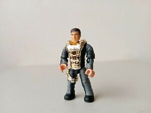 Mega Bloks Construx Halo UNSC Infinity FVK37 Chief Captain Lasky electroplt gold