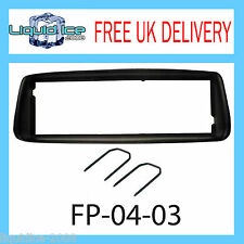 FP-04-03 Peugeot 206 Black Fascia Facia Adaptor Panel Surround Free Keys PC5-83