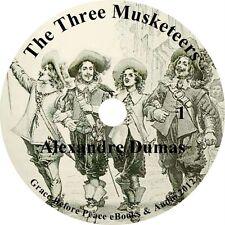 The Three Musketeers Action Adventure Audiobook  Alexandre Dumas on 23 Audio CDs