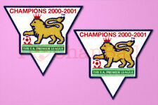 England Premier League Champion 00-01 Sleeve Gold Patch / Badge ManUnited Jersey