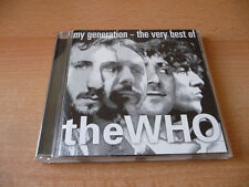CD THE WHO-My Generation-The very best of - 1996 - 20 canzoni