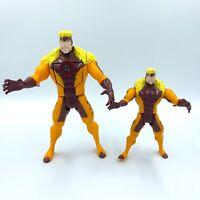 Vintage Marvel ToyBiz Sabretooth X-Men Action Figures from 1993 & 1994 LOT OF 2