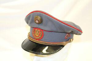 LK798: Österreich Dienstmütze Gendarmerie mit Halterung für Kinnriehmen Größe 56