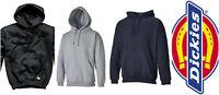 Dickies Hoody Hooded Plain Sweat shirt Black M - XXL SH11300 Hoodie sweatshirt