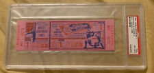 Full PSA 8 1964 Gibson Mantle World Series Ticket Yankees St Louis Cardinals