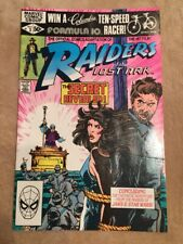 Raiders of the Lost Ark Vol 1 No 3 Oct 1981 Marvel Comic Book NM