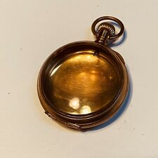 NICE LOOKING 54MM 18S PHILADELPHIA PREMIER GOLD FILLED LC POCKET WATCH CASE (T1)