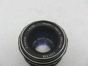 Meyer Optik Gorlitz Oreston 50mm F1.8 M42 Mount Lens For SLR 35mm Film Cameras