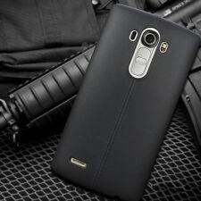 luxe Housse Coque Etui cuir TPU Silicone Mat Arrière Protecteur Cover pour LG G4