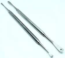 2 Pcs New Periosteal Elevator Kit Dental Surgical Pro Instrument Molt P9A & P24G