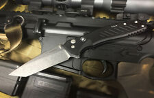 Spartan Blades Knife Pallas Folder Stonewash S35VN Button Lock Tanto