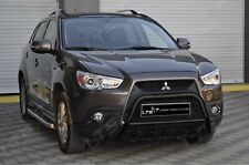 MITSUBISHI ASX STAINLESS STEEL BLACK AXLE NUDGE A-BAR BULL BAR GUARD 2010-2012
