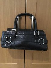 STYLISH RI2K BLACK LEATHER BAG / USED / GOOD CONDITION / SOME LIGHT SIGNS OF USE