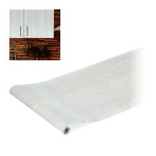 1 x Klebefolie Möbel Holzfolie weiß Dekofolie Möbelfolie selbstklebend 200 cm