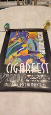 Cigarfest 2008 Autographed Signed Poster Nick Perdomo Acid Drew Estate Graycliff