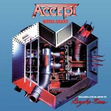 Accept - Metal Heart / Kaizoku-Ban: Live In Japan 85' (NEW CD)