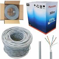 305M RJ45 FTP CAT5E OUTDOOR Network Ethernet LAN Cable UTP ADSL Roll Reel Box