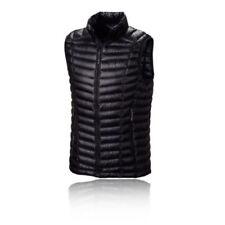 Abbiglimento sportivo da uomo giacche e gilet nero con tasche