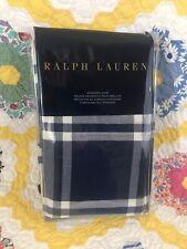 Ralph Lauren WINTER HARBOUR  Blue Plaid STANDARD PILLOW SHAM - NEW