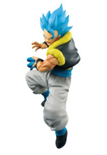 Banpresto Dragon ball Super Strongest fusion fighter SSGSS Gogeta Kamehameha! JP